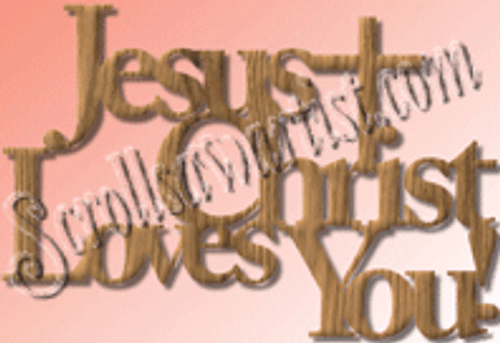 Jesus loves you (WO052)