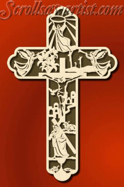 Easter cross (RE090)