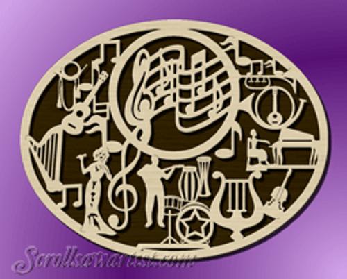 Music plaque (MI253)