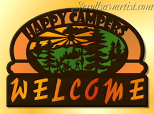 Happy Campers Welcome #2 (SI114)