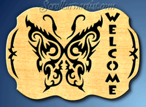 Butterfly Welcome (SI116)