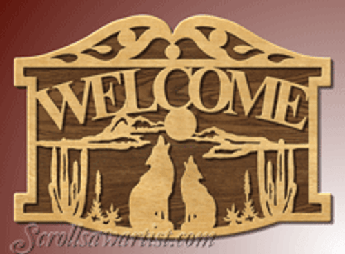 Howling wolves welcome  (SI184)