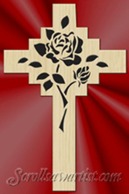 Rose cross (RE015)
