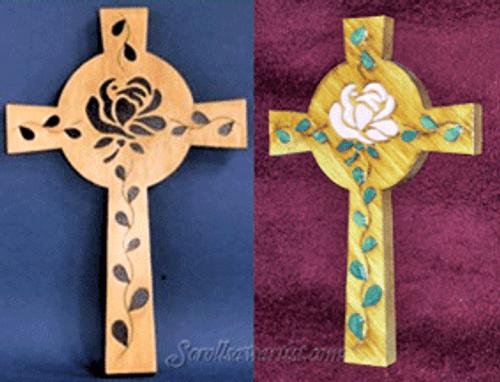 Rose cross (RE065)
