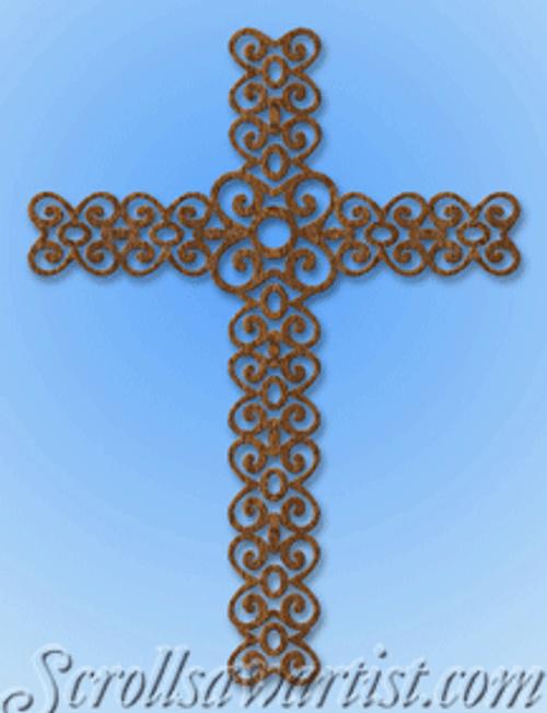 Lace cross (RE115)