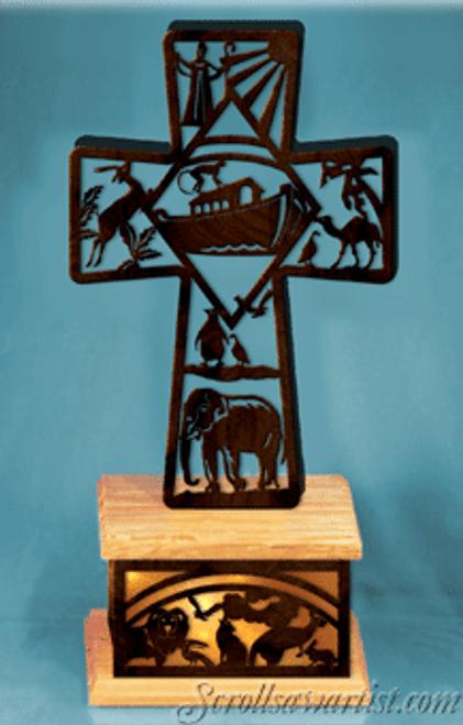 Noah's ark cross (RE294)