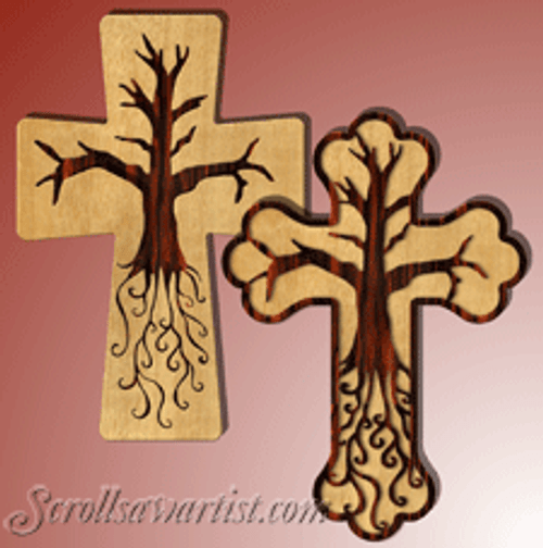 Tree of life cross (RE439)