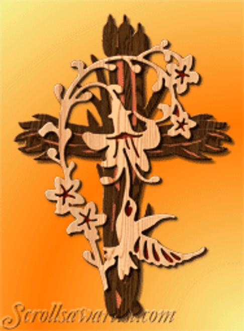 Hummingbird cross (RE454)