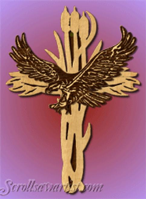 Eagle cross (RE455)