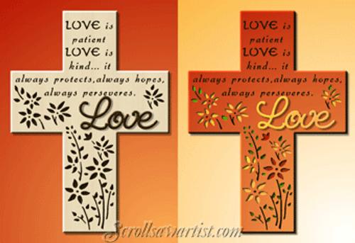 Love cross (RE502)