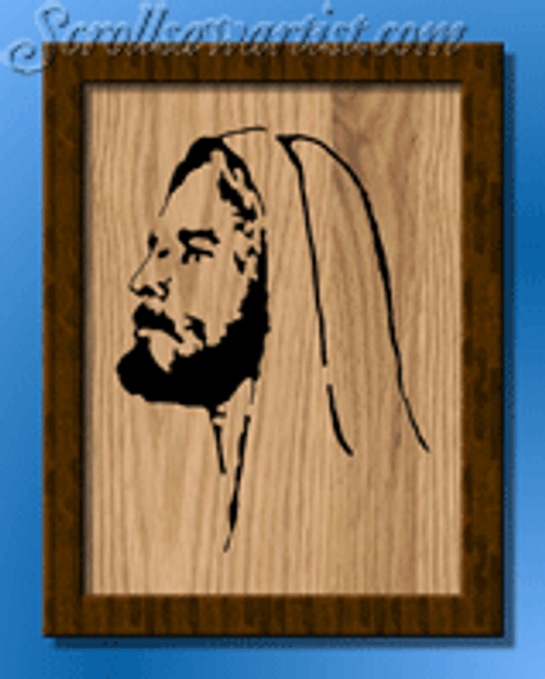 Jesus portrait (RE222)