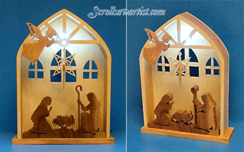Lighted Nativity (NW565)