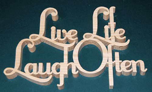 Live life Laugh Often (NW756)