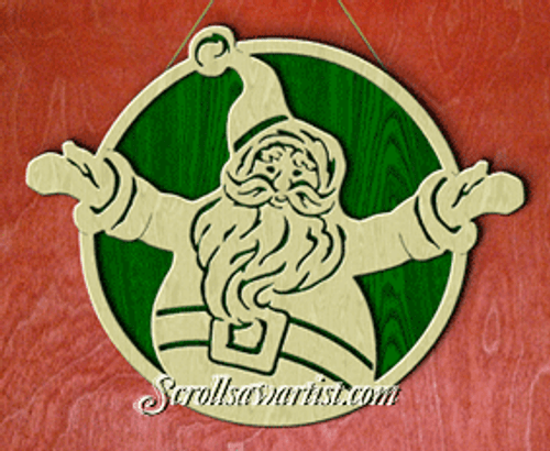 Jolly Santa (NW1456)