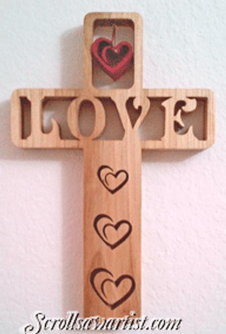 Love cross (NW1545)