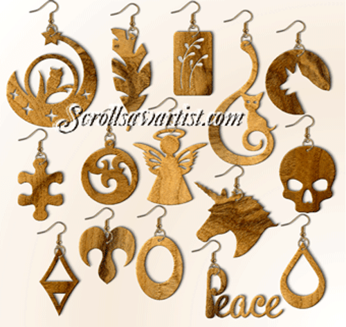 Set of 15 Earrings (NW2441)