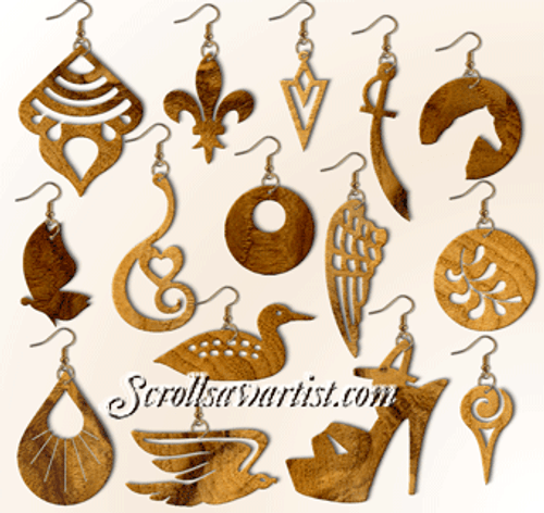 Set of 15 Earrings (NW2442)