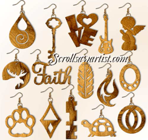 Set of 15 Earrings (NW2443)