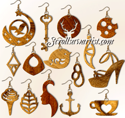Set of 15 Earrings (NW2445)