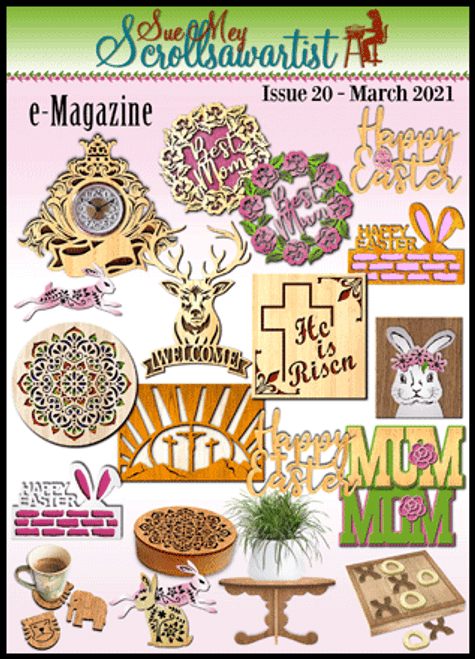 Scroll saw e-Magazine Issue 20 - March 2021