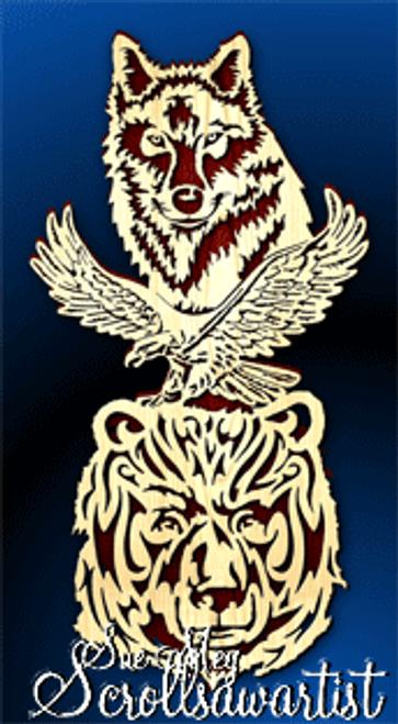 Wolf Eagle Bear