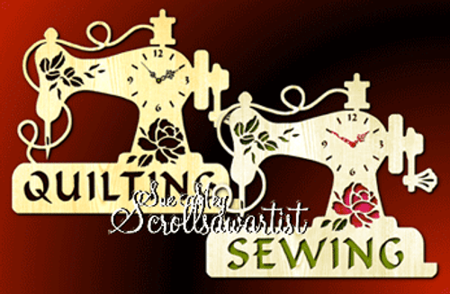 Quilting & Sewing clocks