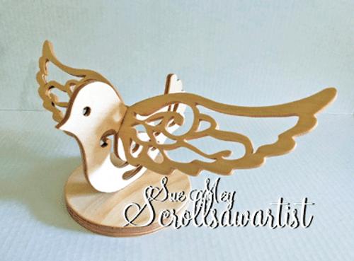 Slotted bird #1