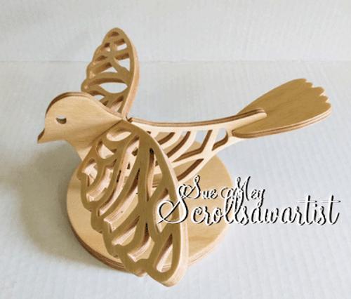 Slotted bird #2