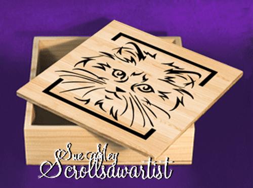 Cat face box #1