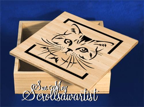 Cat face box #2