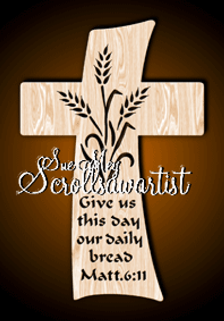 Daily bread cross