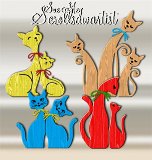 Cat caricatures