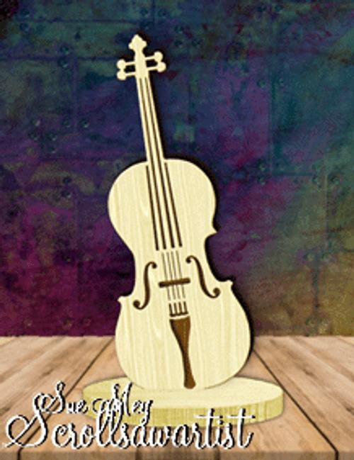 Violin or Cello on base