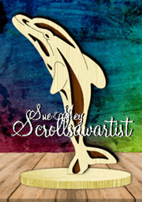 Dolphin on base