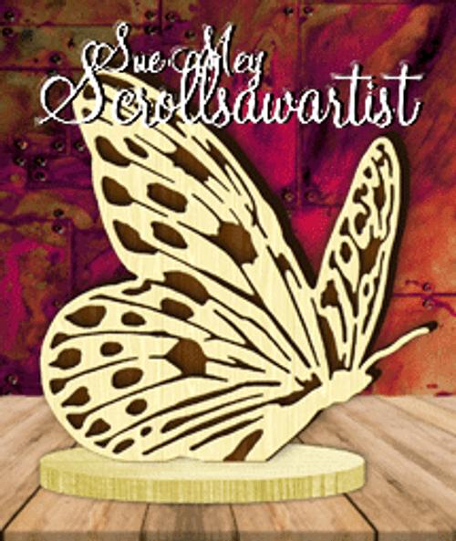 Butterfly on base