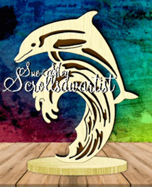 Dolphin on base #2
