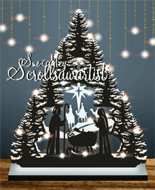 Nativity tree #3