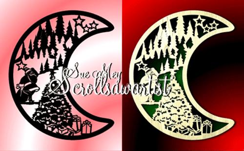 Crescent moon - Christmas