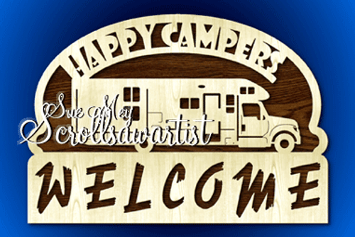 Happy Campers Welcome #12