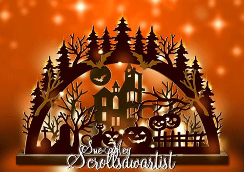 Halloween arch #1