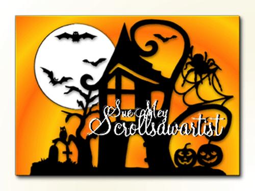 Halloween plaque #2