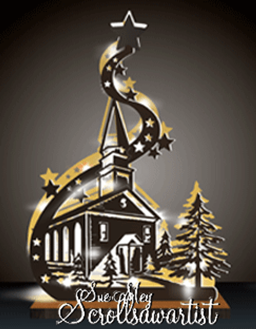 Lighted church #2