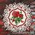 Roses plaque #2