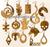 Set of 15 Earrings (NW2441)