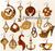 Set of 15 Earrings (NW2445)