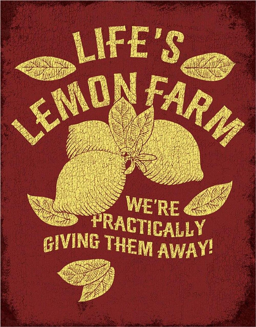 Lifes Lemon Farm