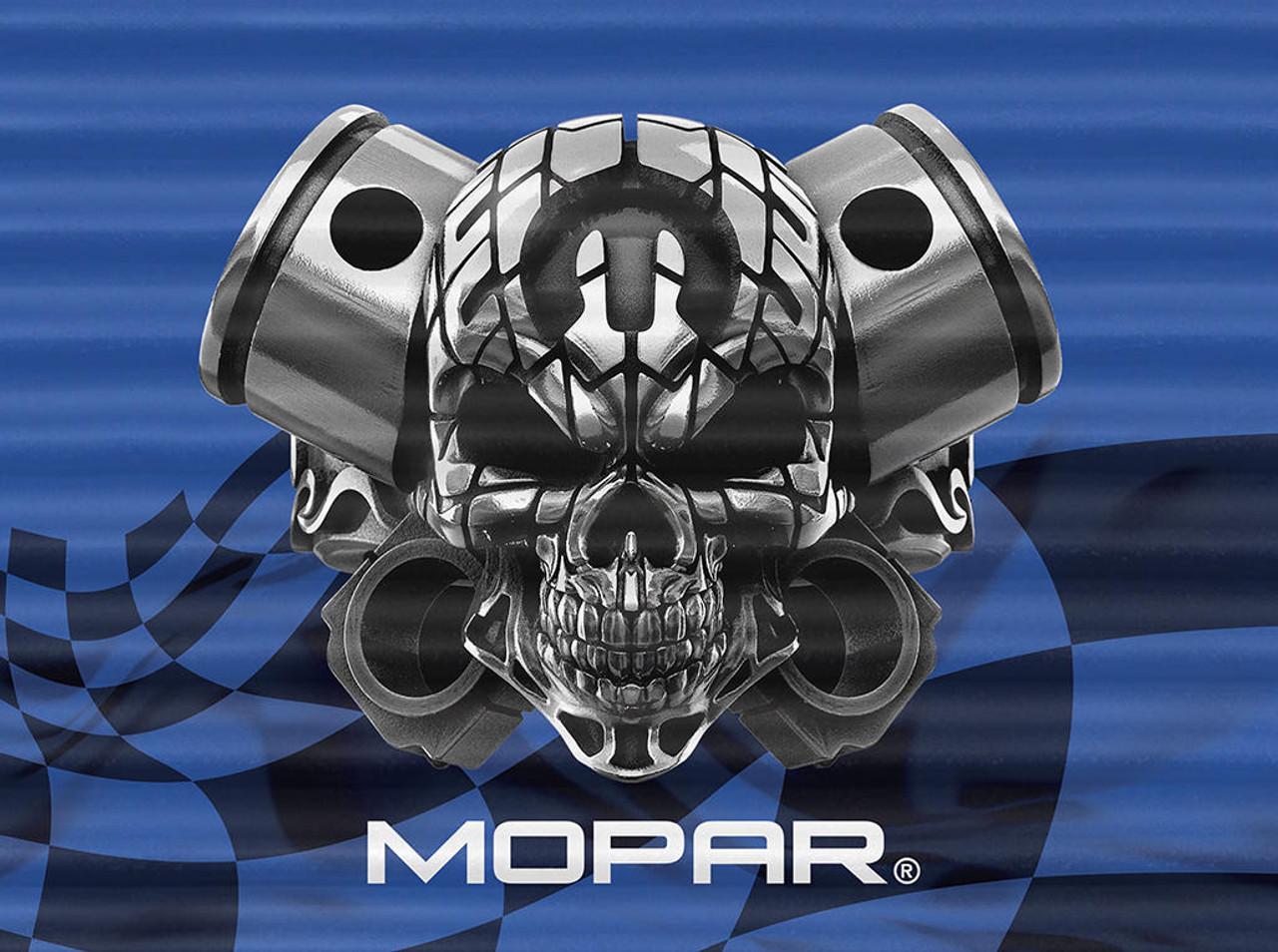 Mopar Corrugated - Mopar Skull
