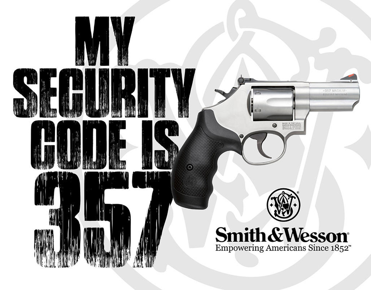 Smith and Wesson S and W - Security Code