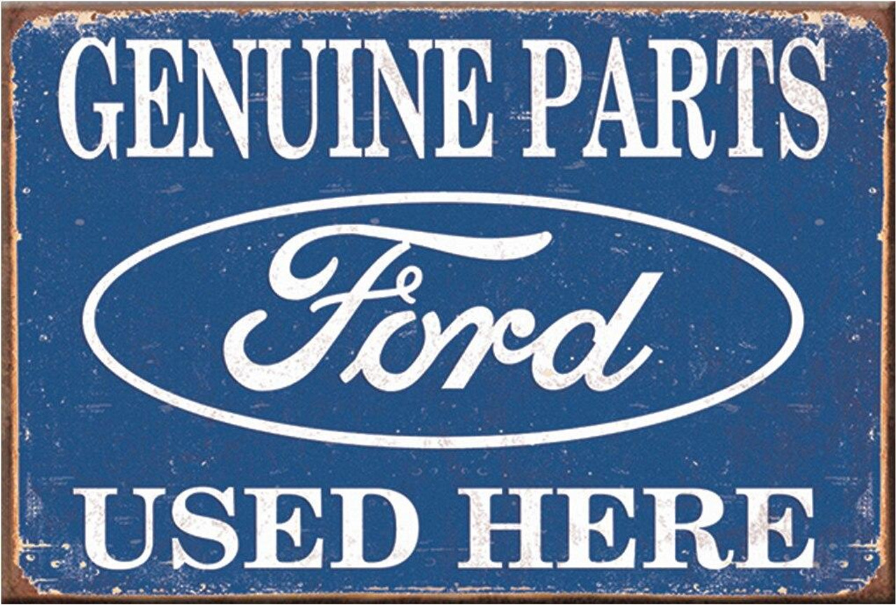 Ford Magnet Ford Parts Used Here