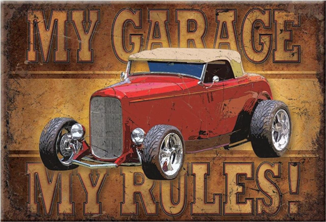 Magnet My Garage - Rod